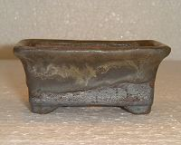 square bonsai pot