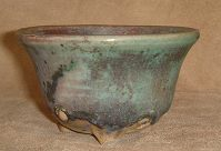 hand-built bonsai pot